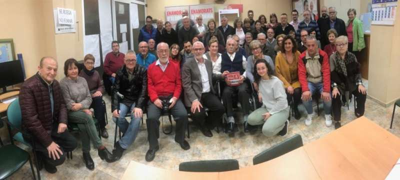 Aprobada por unanimidad la lista del PSPV-PSOE de Alboraia