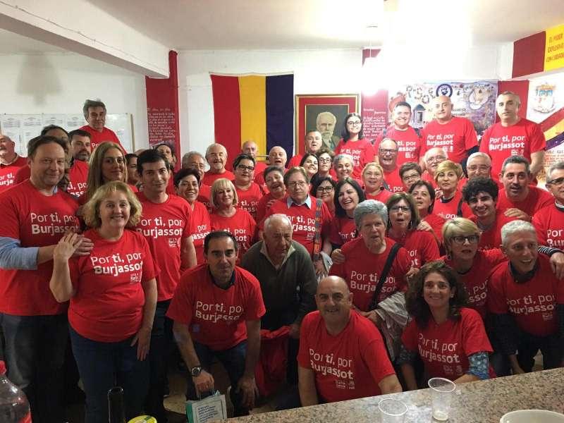 Arrranque de campaña de los socialistas de Burjassot. EPDA