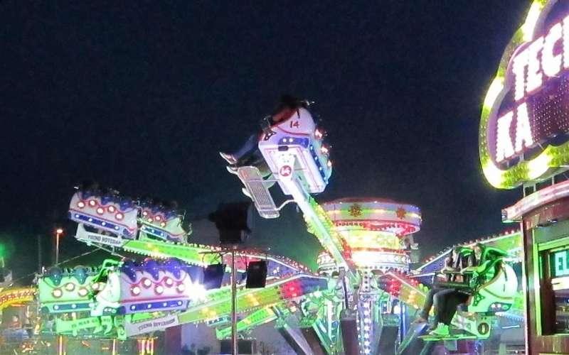 Feria de atracciones de Llíria.