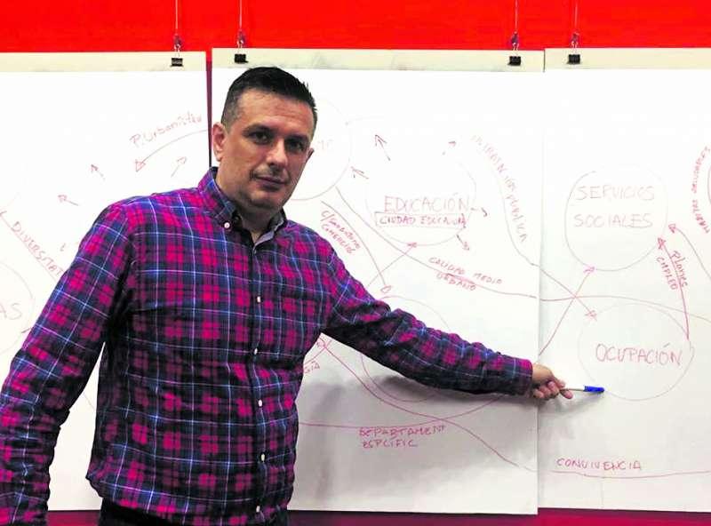 Dani Portillo, candidato de Guanyar Catarrola-EU
