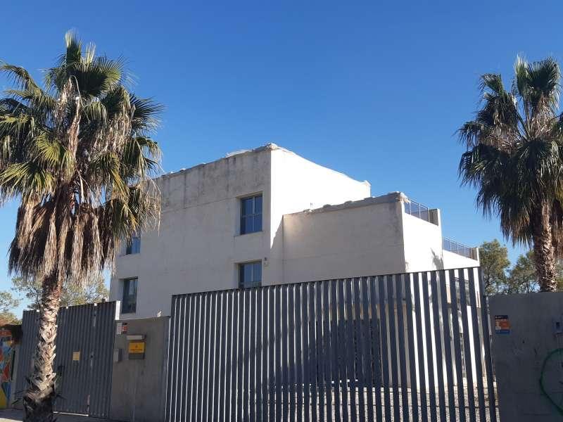 Un dels edificis. EPDA