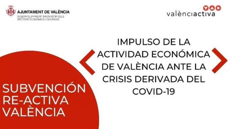 Campaña de ayudas del Ayuntamiento de València.