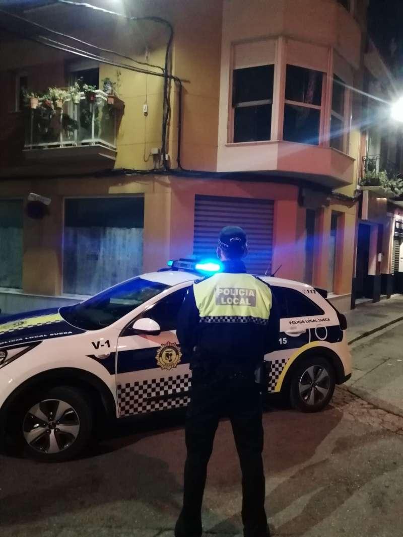 La Policia Local de Sueca. EPDA