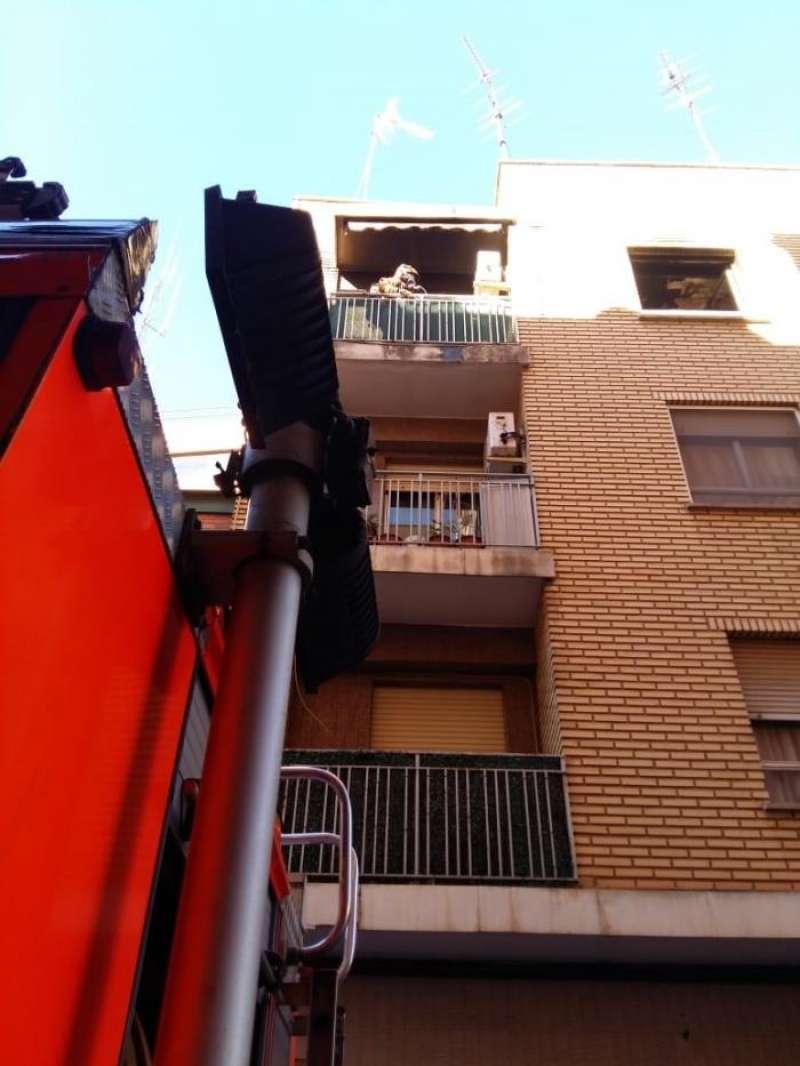 Los bomberos en el momento de la intervención. FOTO EFE