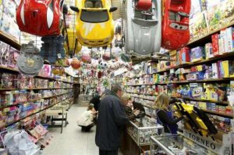 Imagen de archivo de una tienda de juguetes. EFE