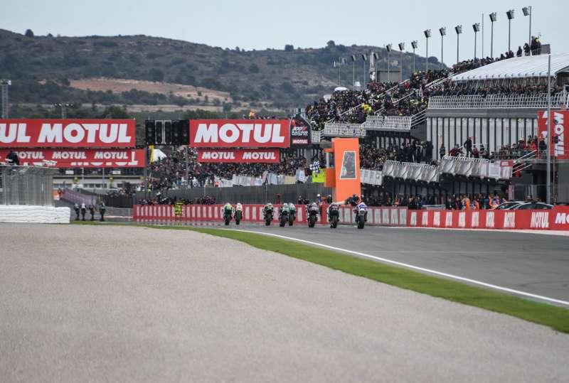 Dos jornadas de entrenamientos de los equipos de MotoGP.