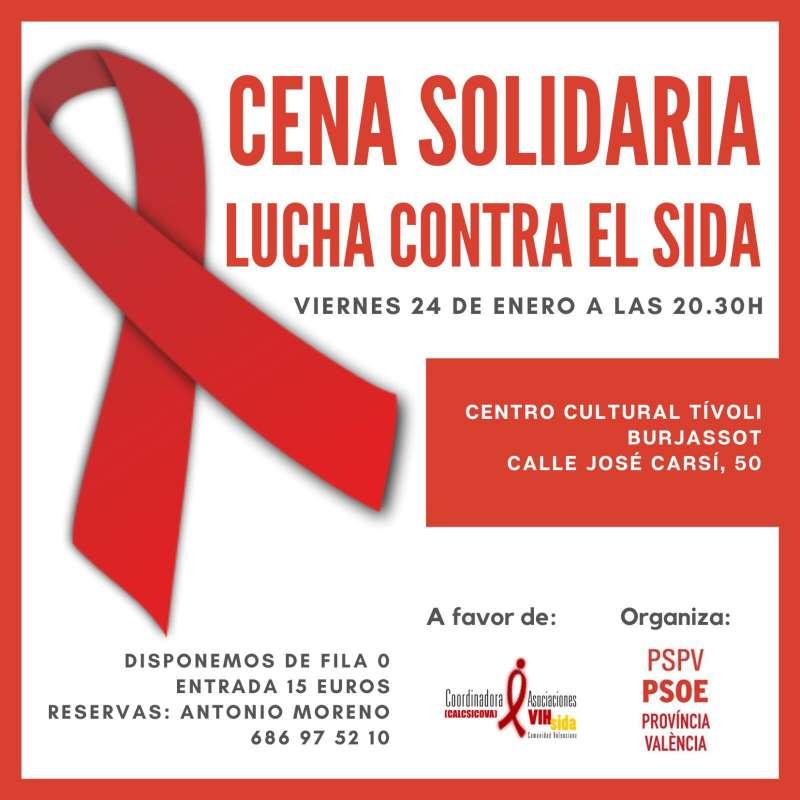 Cartel de la iniciativa solidaria. EPDA