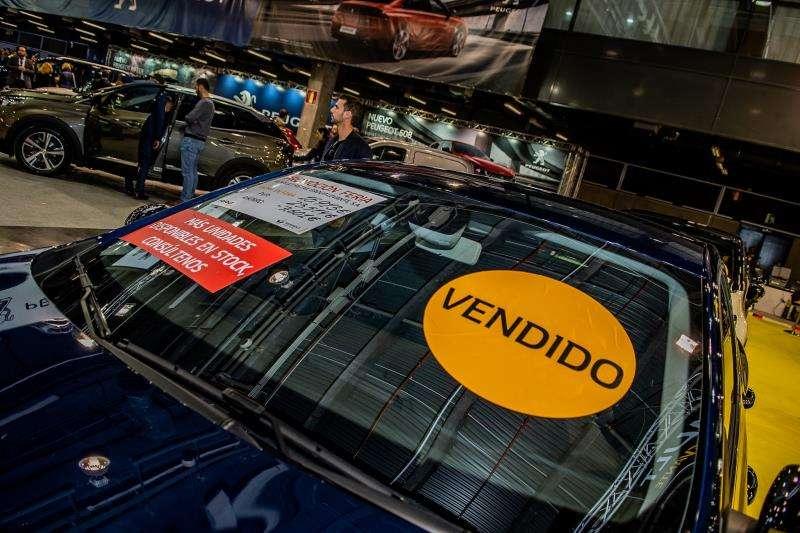 Uno de los más de 4.000 coches vendidos. EFE