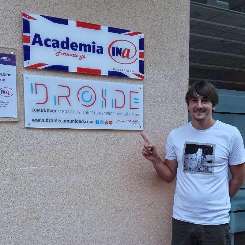 Jorge Pérez, Director de Droide en la nueva academia de Segorbe