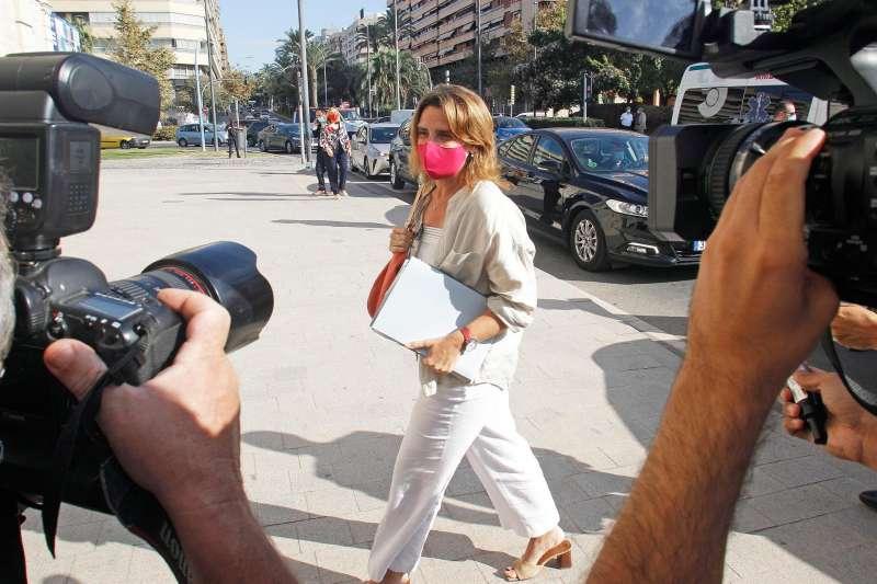 La vicepresidenta y ministra para la Transición Ecológica, Teresa Ribera. EFE/Morell