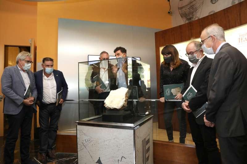 Se encuentra en el Museo Arqueológico de la Diputación