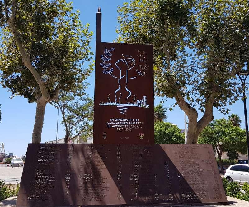 Monument als treballador d
