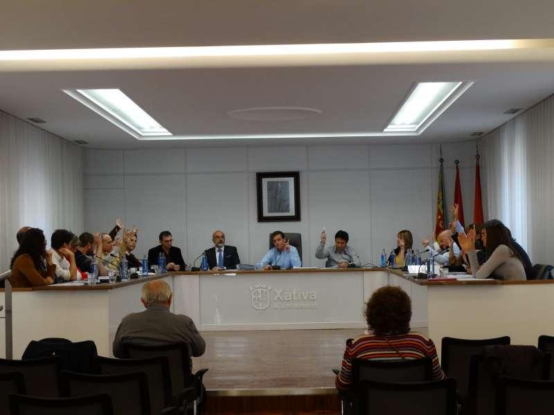 Ple a Xàtiva per decidir els pressupostos. -EPDA
