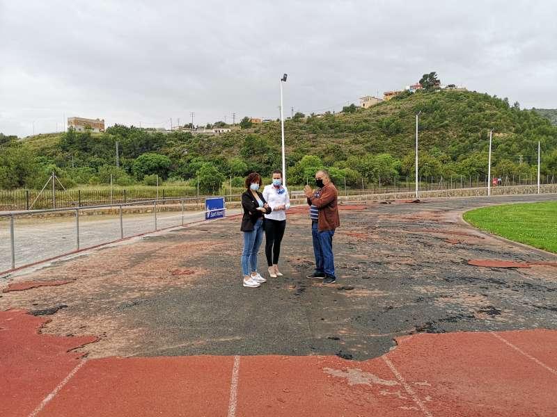 Pista de atletismo/EPDA