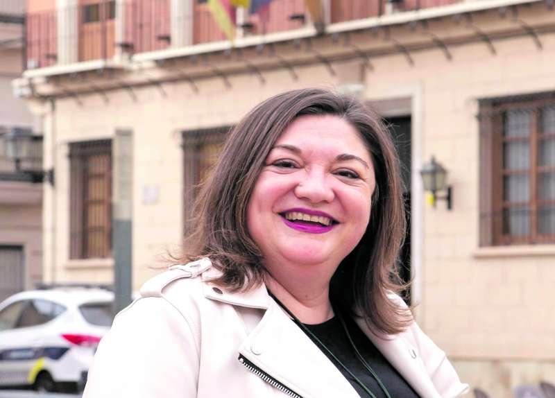 Alcaldesa de Alcàsser, Eva Zamora. EPDA