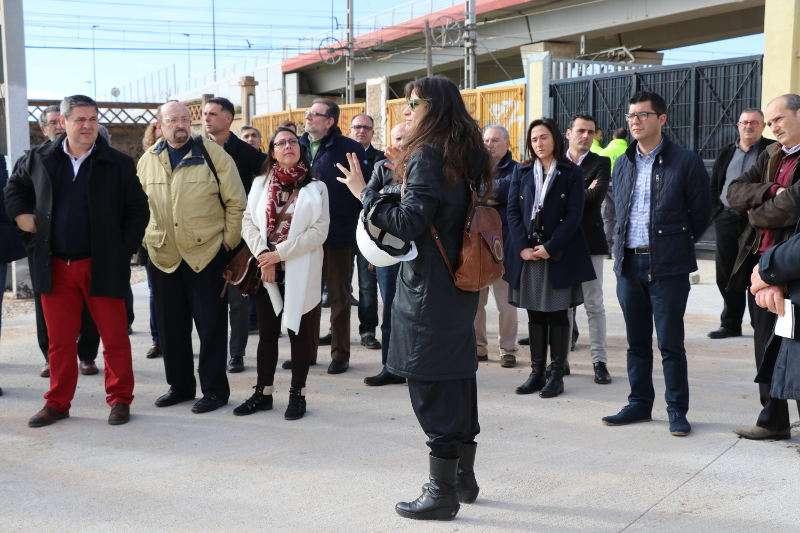 Visita al Museo del Ferrocarril de Torrent. EPDA