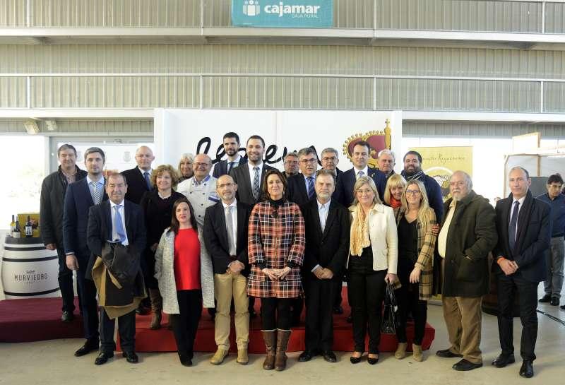 Foto familia Inauguración Muestra Embutido