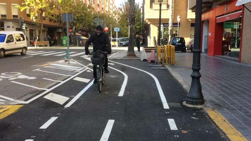 Carril bici de València. EPDA