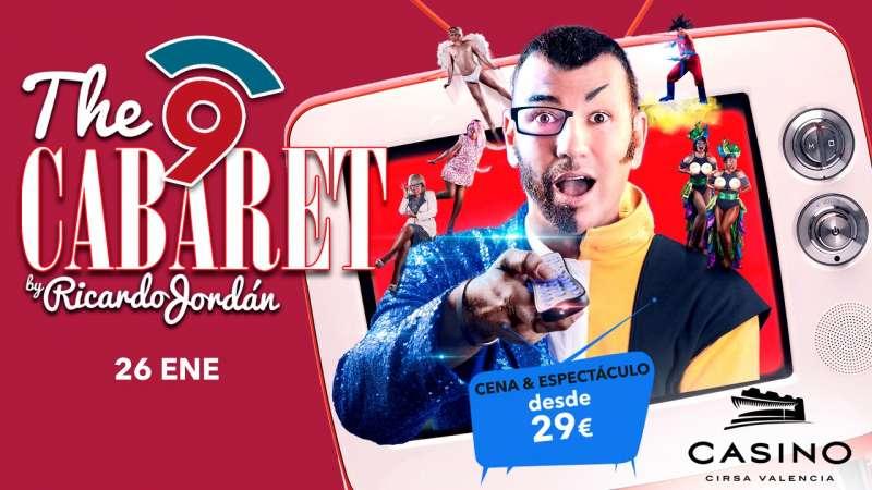 Cartel del nuevo espectáculo de Casino Cirsa Valencia. EPDA