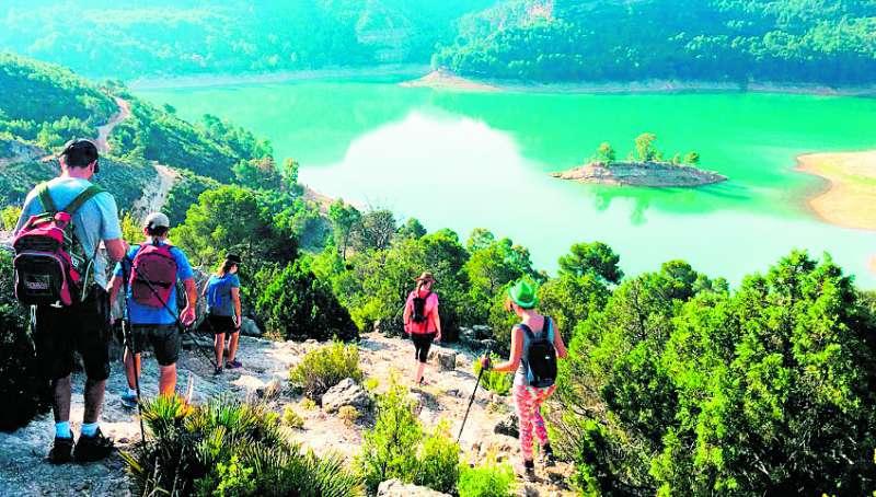 Los atractivos naturales son uno de los grandes argumentos turísticos. / Tierra Bobal