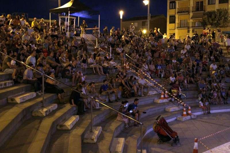 Público del cine de verano. EPDA