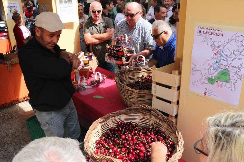 Feria de la cereza en 2019