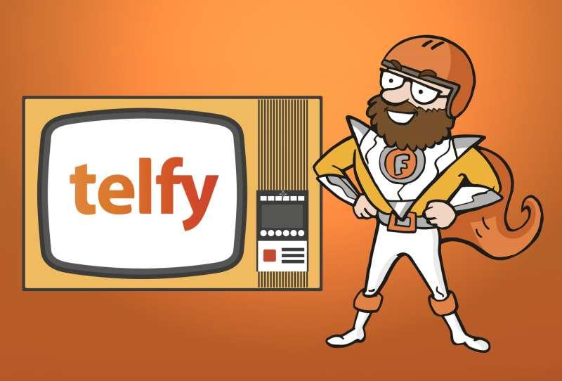 Telfy atiende por videollamada
