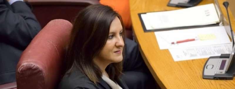 La Portavoz Adjunta del Grupo Popular en Les Corts, María José Catalá