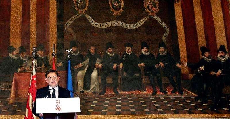 El president de la Generalitat, Ximo Puig, anuncia el adelanto de las elecciones autonómicas en la Comunitat Valenciana