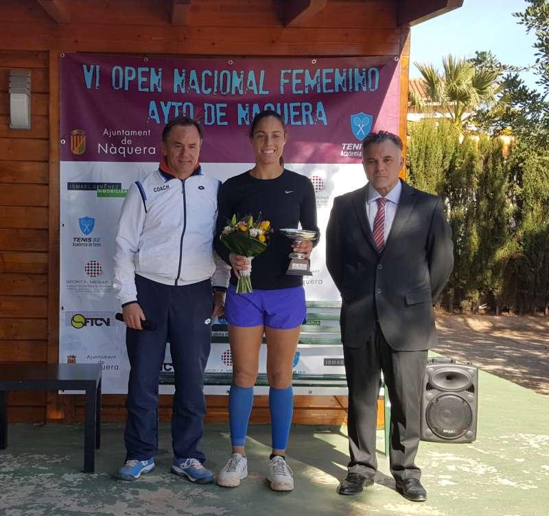 Estrella Cabeza se proclama campeona del VI Open Femenino Náquera