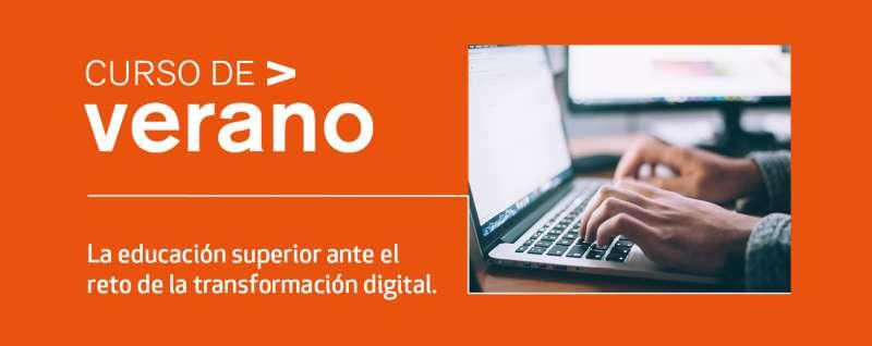 Cartel curso online VIU./PDA