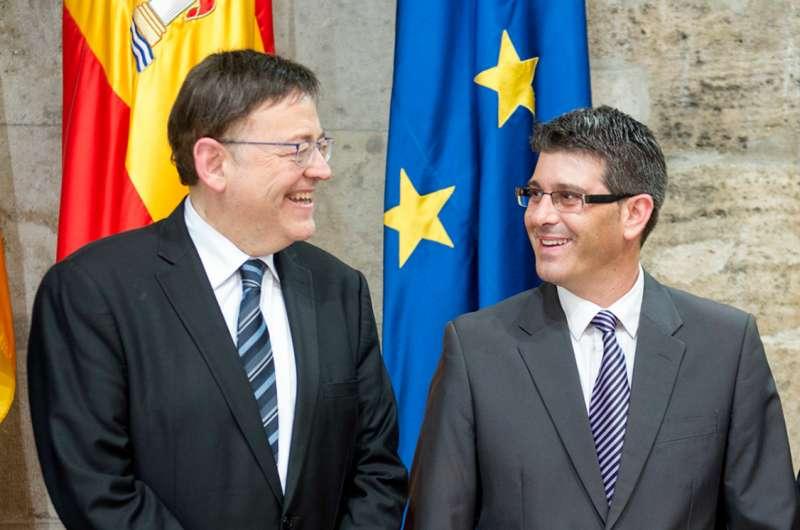 Ximo Puig i Jorge Rodríguez. EPDA