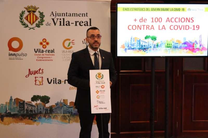 El alcalde presentó el balance del Covid-19