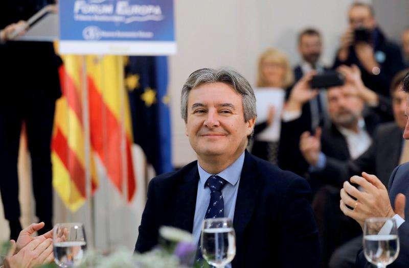 El presidente de la gestora del Partido Popular de la provincia de Valencia, Rubén Moreno. EFE/Archivo