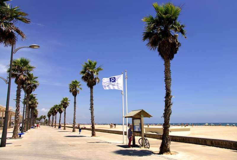 Playa de La Patacona, imagen de archivo