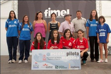 Gema, Mamen, Tamara y Mar serán las representantes de Meliana. FOTO: EPDA.