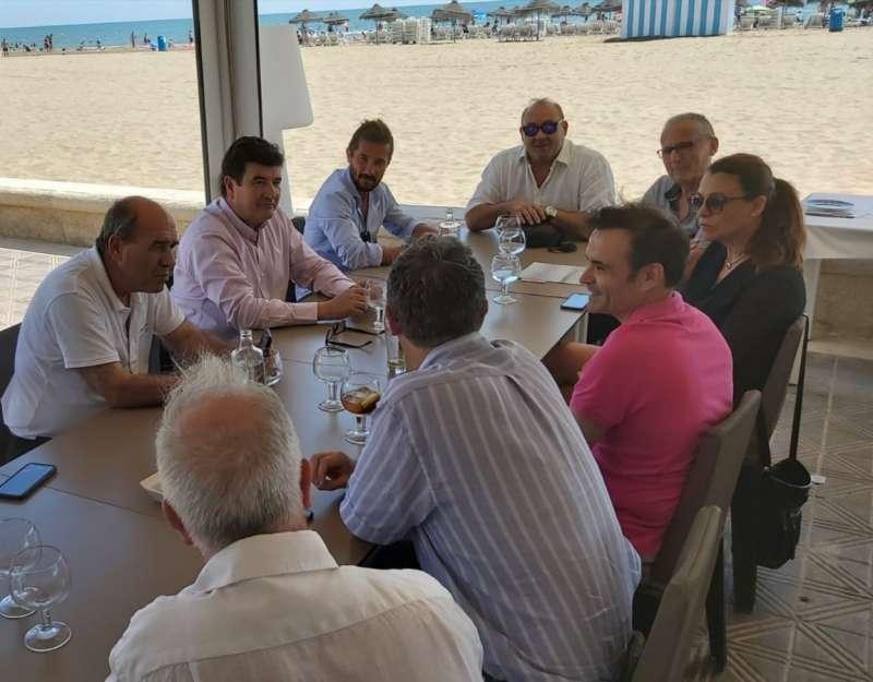 Reunión de Fernando Giner con hosteleros. CIUDADANOS