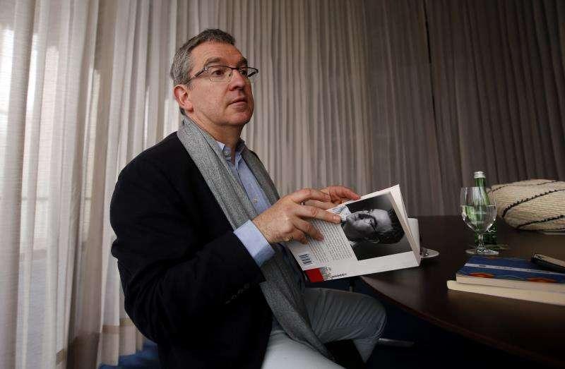El escritor español valenciano Santiago Posteguillo. EFE/Archivo