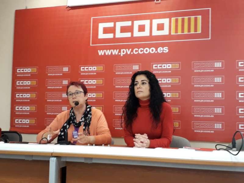 Soledad Fernández y Ana García