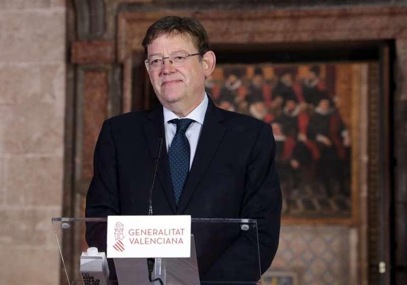 El presidente de la Generalitat Valenciana, Ximo Puig. EFE/ Gva