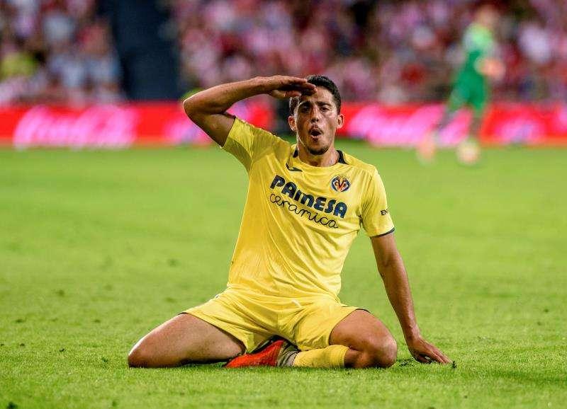 El centrocampista Pablo Fornals. EFE/Archivo