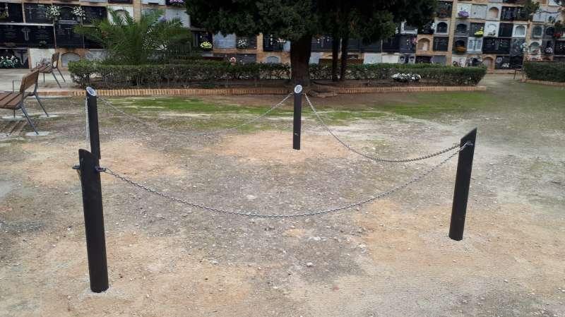 Nueva fosa común en el cementerio de Paterna.