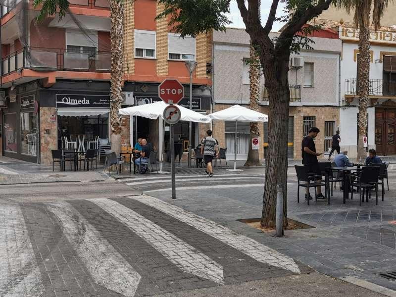 Terrazas en Xirivella. EPDA