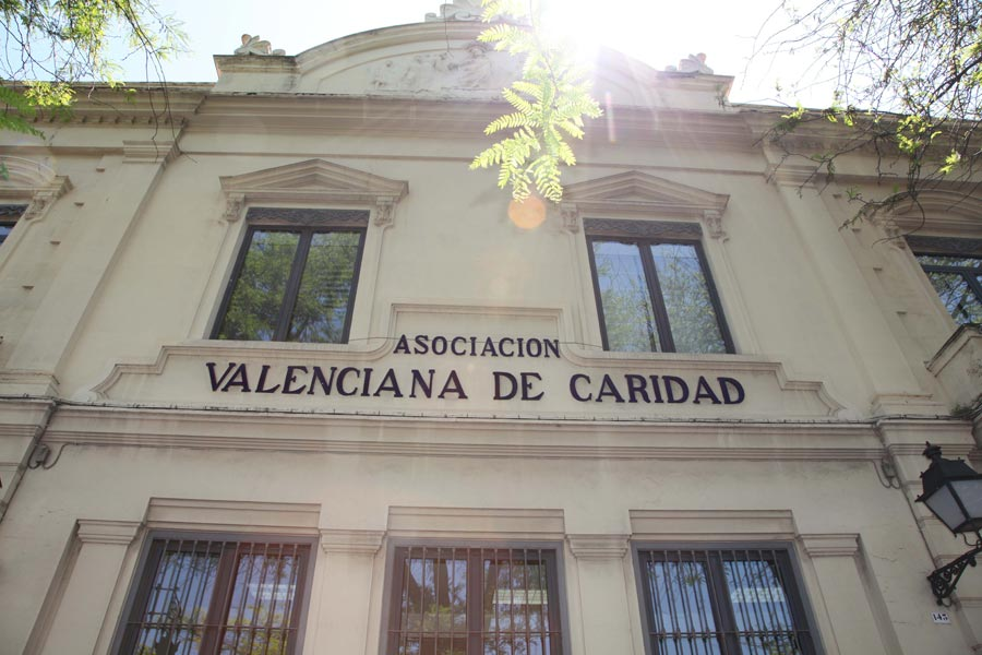 Imagen de la fachada de Casa Caridad. FOTO EPDA