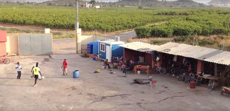 La Casa Nueva, en Sagunt.