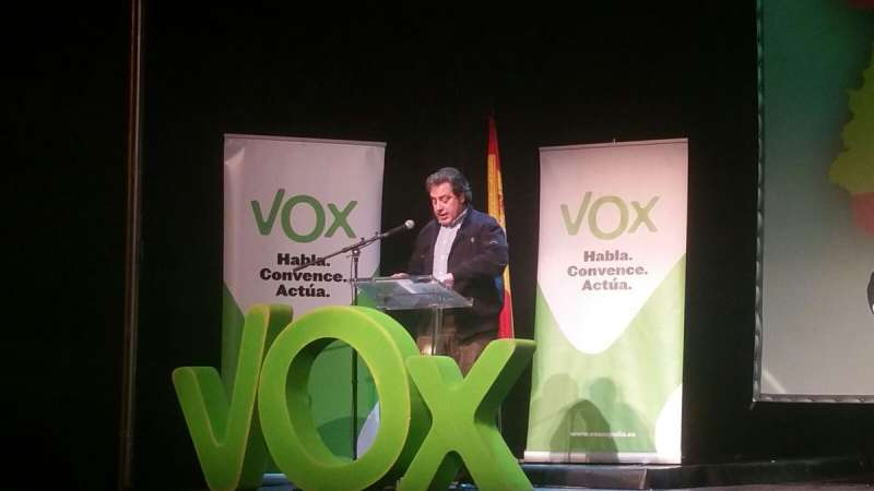 José María Llanos, presidente provincial de VOX Valencia
