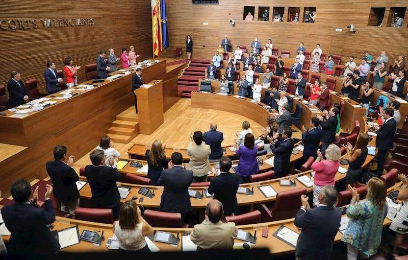 Imagen de Les Corts Valencianes. EFE/Archivo