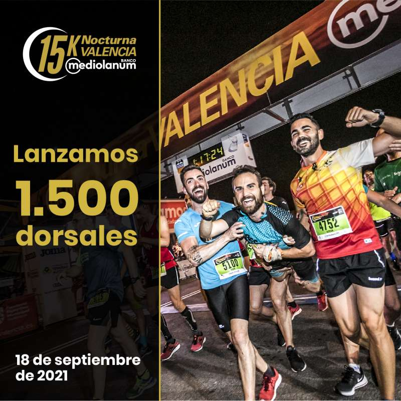 La 15K Nocturna València Banco Mediolanum