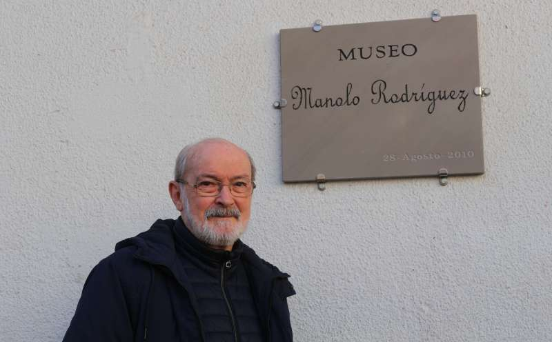 Manolo Rodríguez, escultor