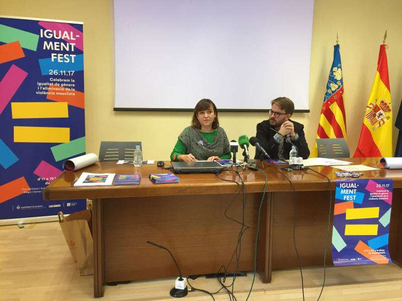 Presentació de la Igual-ment Fest de València. EPDA